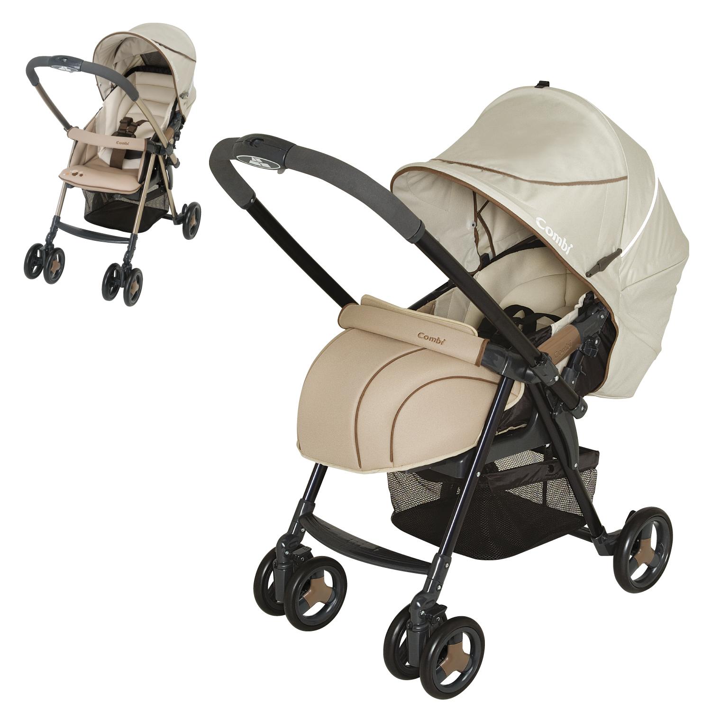 COMBI - детская коляска «Urban Walker Classic UR350Z/BE» (113561) ( + дождевик (121364))