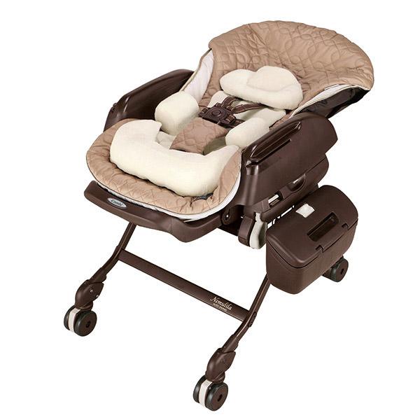 Combi «Nemulila» Beige - Электронная многофункциональная люлька-стульчик (от рождения - 4 лет) (114480)