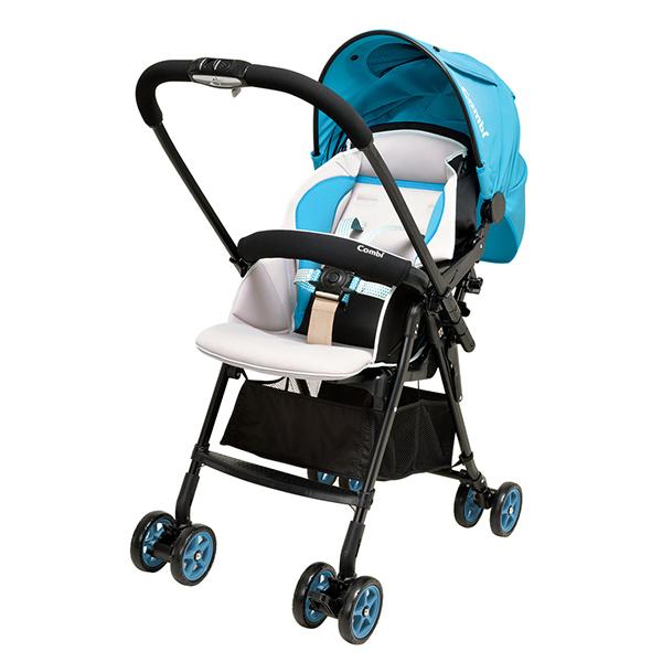 Компания COMBI - детская коляска WELL COMFORT Blue (BL) (114491)