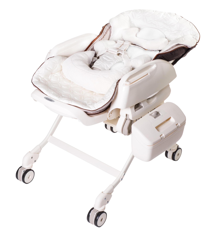 Электронная многофункциональная люлька - стульчик COMBI  Beige (от рождения - 4 лет) - 220 вольт (art. unknown)