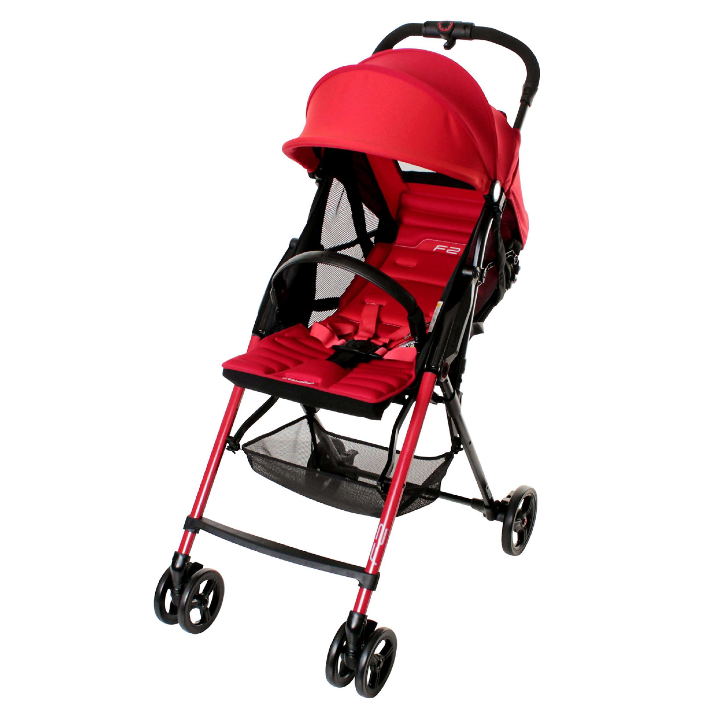 Компания COMBI - детская коляска «F2 Plus AF» Red (115024)
