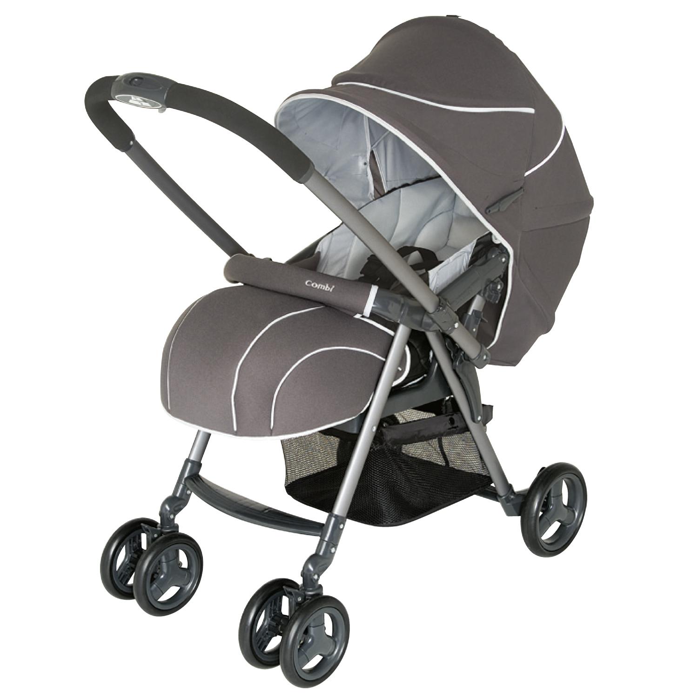 COMBI - детская коляска «Urban Walker Classic UR350Z/DG» (113562) ( + дождевик (121364))